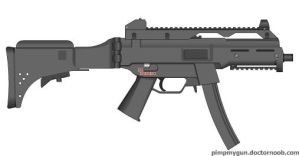 My HK UMP9 A1 Sub Machine Gun by Scarlighter