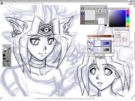 The Over-Cuteness...-WIP- by lanlan