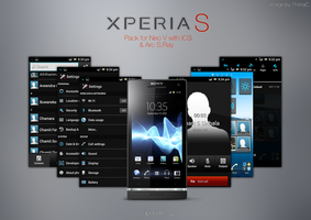 Xperia S theme for Sony ICS v1.2 by ThilinaC