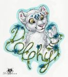Dolphy Flower-Badge by DolphyDolphiana