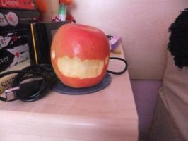 The retarded apple of doom by ComplexMagic