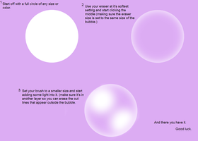 3 steps -bubbles- in SAI by Sigity