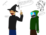 I put on my wizard hat.... by TheGoldenCrowbar