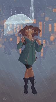 Rainy Day Dream by GreenOverGreen