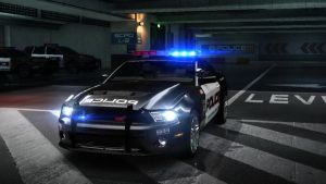 ford GT500 police. NFS by daz1200