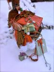 A very Christmas basket by Lezoz