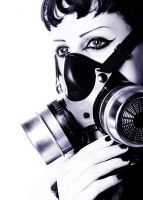 Daisy, gas mask by AlexWilson