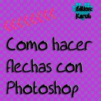 Tuto: Como hacer flechas png con photoshop. by Karuhchitta