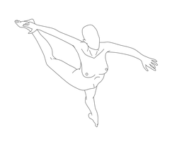 Dancing Pose Female 03 by Death-Tendency
