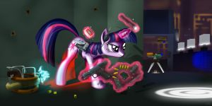 MLP: FiM  Receiver Crossover with Twilight by Pyrestorm