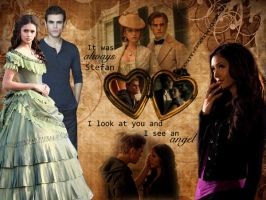 Katherine and Stefan by angiezinha