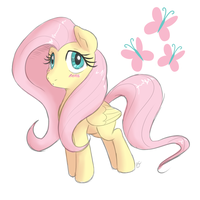 Fluttershy by Mitzy-Chan