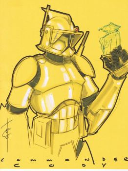 Commander Cody 40 by Hodges-Art