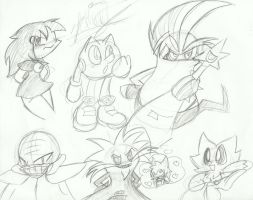 Some doddles 83 by Papiwolffox640