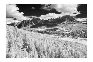 Cortina, Dolomites - I IR by DimensionSeven