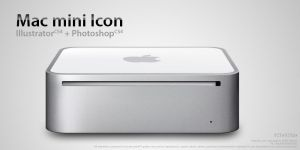 Mac mini Icon by Nemed