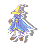 Comm: Black Mage by Typhlo