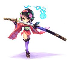 Momohime by chingisss