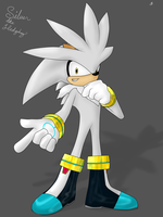 Silver the Hedgehog by TonyFicticium