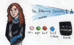 Dr. Rebecca in Colour by harrimaniac27