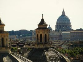 Rome - Skyline by PhilsPictures