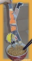 Naruto Paperchild by PandorasJukebox