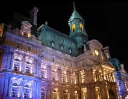 Montreal City Hall by serpentesse