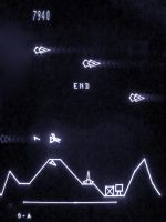 Vectrex Scramble Game Over by ggeudraco