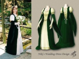 Niki's Wedding Dress Design by Niki-UK