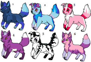Dog adopts by Tangle-Kitty