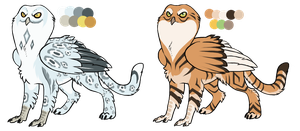 Owl Griffins - Auction CLOSED by AkaKennel