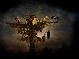 Scarecrow by meaty