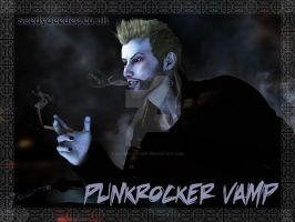 Punkrocker Vamp - Vampire Personality Test by 3D-Fantasy-Art