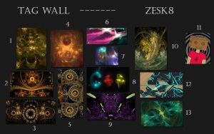 Tag Wall No.12 by zesk8