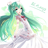Miku 6th Anniversary by Shadow2810