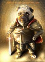 Pug Warrior by Pistefix