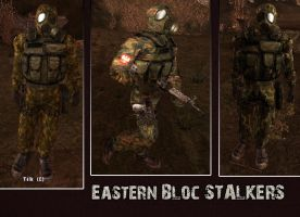 Eastern Bloc S.T.A.L.K.E.R.S by crowhitewolf