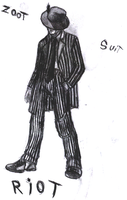 Zoot suit- by oldarmodillo