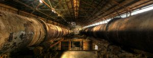 Thats a lotta Pipe by wreck-photography