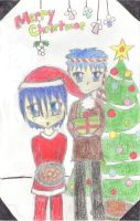 Marth's First Christmas: pic by taiyue