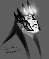 Melkor and his treasure by the-ALEF