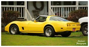 A Sharp Yellow Corvette by TheMan268