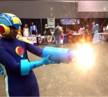 Mega Buster Charged by R-Legend