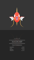 Magikarp by WEAPONIX