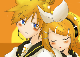 I can't help. No lo puedo evitar// LEN X RIN by HitoriLoveNejiHina