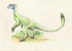 Ornitholestes hermanni by Andrewsarchus89