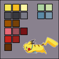 .:Pika-Pi Color Ref:. by Volmise