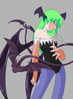 Request Darkstalkers: Morrigan by ArtistOfDarkness