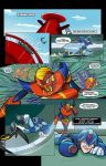 Archie Comics Mega Man X Sample Page 1 Finish by BrianLee88