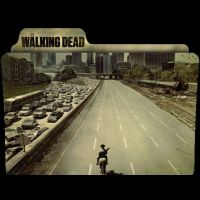 The Walking Dead folder icon by P-Ron